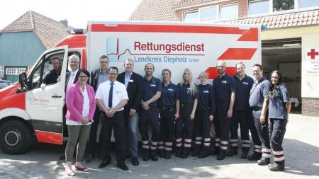 Rettungsdienst des Landkreises zieht erste Bilanz
