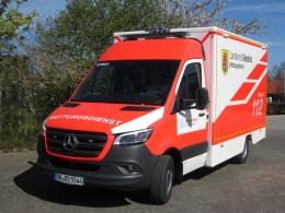 Neuer Rettungswagen - Neues Design