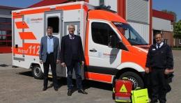 """Neuer Rettungswagen an der B6: """"Kleine Intensivstation für die Erstversorgung"""""""