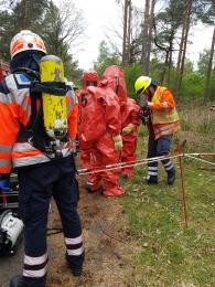 Rescue Day- Tagesübung mit der Feuerwehr